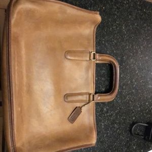 Coach Vintage Leather Briefcase